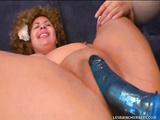 Big lesbian ladies vibrating their meaty vaginas