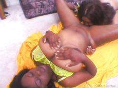 Big titty ebony lesbians