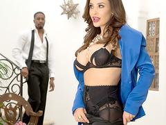 MILF big ass pornstar Lisa Ann + BBC = Interracial XTC