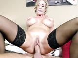 Busty stunner Brandi Love lets big boner XXX penetrate her pussy
