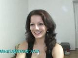 Natural czech brunette lapdancing for money