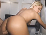 Lexy fucked in a gym