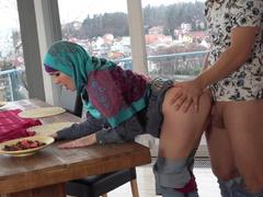 A lost Muslim wench