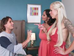Nina Elle sexy stepmommy's lessons