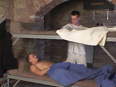 Sexy hot twinks doing hardocre filthy sex at hostel