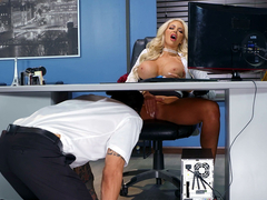 The View From Down Here with Nicolette Shea and Alex Legend - Brazzers HD