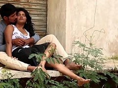 Desi Girl Romance With Boyfriend In Private Place Latest Indian Masala(720p).MP4