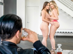 Lily Love and Mia Malkova in a fantastic threesome