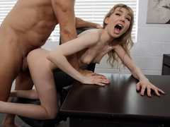 Mackenzie Moss gets fucked by Ramon in the office