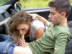 Cock-Loving British MILF Ava Austen Is Taking A Road Trip In Search Of Big Dicks