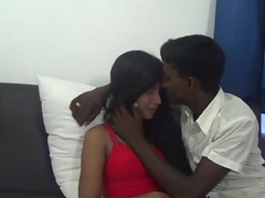 Beautiful Young Tamil Couple Filming Their Sex Video