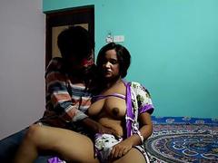 Indian Porn Of Horny Simran Bhabhi With College Boy