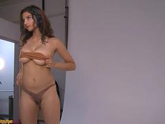 Perfect Big Tits Indian Babe Shanaya Strip Show