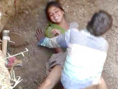 Village Couple Caught Fucking In a Deep Hole