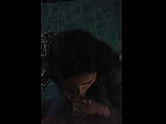 Mallu girl anuja abroad giving blowjob