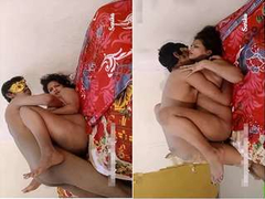 Today Exclusive-Sexy Sarika Boob Pressing and hard Fucked By Lover