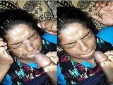 Today Exclusive-Hubby Cum On Wife Face