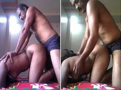 Today Exclusive-Desi Mature Couple Fucked In Doggy Style