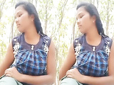 Sexy desi young girl sex with bf in jungle