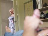Busty blonde mom Joslyn James has an XXX affair with hung stepson