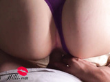 Hot Blonde Deepthroat and Cowgirl on Big Dick - Orgasm Closeup