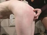 Skinny bitch at mercy of nasty Mistress Katy Parker